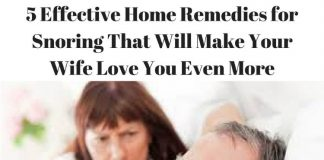 5 Effective Home Remedies for Snoring That Will Make Your Wife Love You Even More