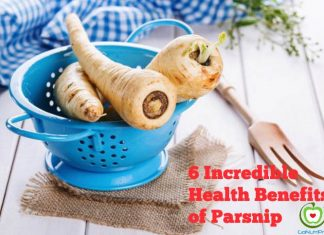 6 incredible health benefits of parsnip