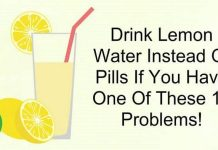 Drink Lemon Water Instead Of Pills