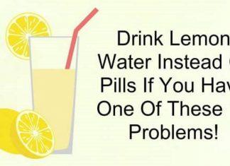 Drink Lemon Water Instead Of Pills