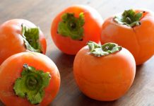 Japanese apple - Persimmon Is Organic Superfood