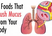 7 Foods That Flush Mucus From Your Body